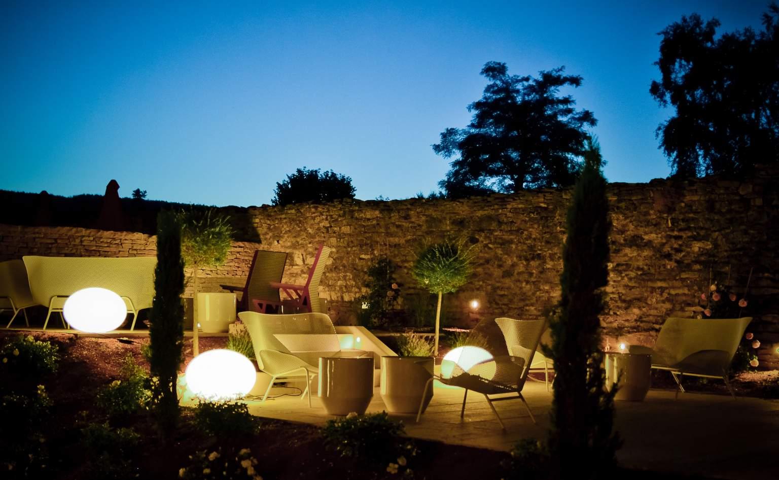 terrasse de nuit